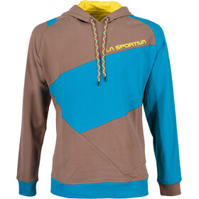 La Sportiva Magic Wood Hoody Men Falcon Brown/Tropic Blue